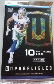 2016 Panini Unparalleled Football Hobby Pack