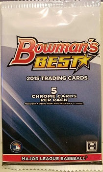 2015 Bowman's Best Baseball Pack
