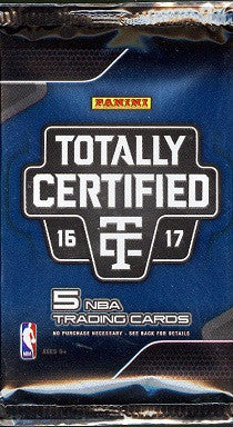 2016-17 Panini Totally Certified Basketball Hobby Pack