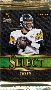 2016 Panini Select Football Hobby Pack