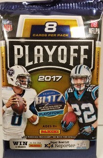 2017 Panini Playoff Football Hobby Pack