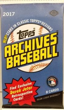 2017 Topps Archives Baseball Pack