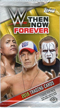 2016 Topps WWE Now, Then, Forever Wrestling Hobby Pack