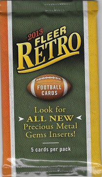 2013 Fleer Retro Football Hobby Pack