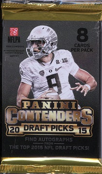 2015 Panini Contenders Draft Football Hobby Pack