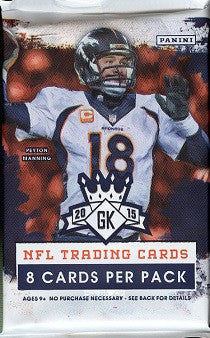 2015 Panini Gridiron Kings Football Hobby Pack