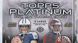 2015 Topps Platinum Football Hobby Pack