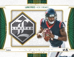 2017 Panini Limited Football Pack (1 Hit Per Pack)
