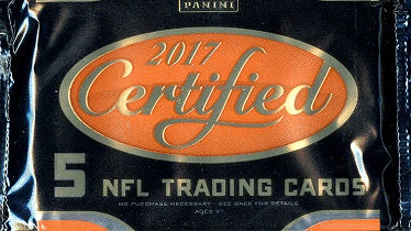 2017 Panini Certified Football Hobby Pack