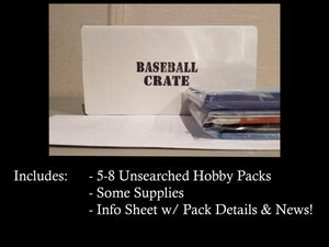 Baseball Crate 3-Month Subscription