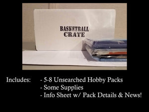 Basketball Crate