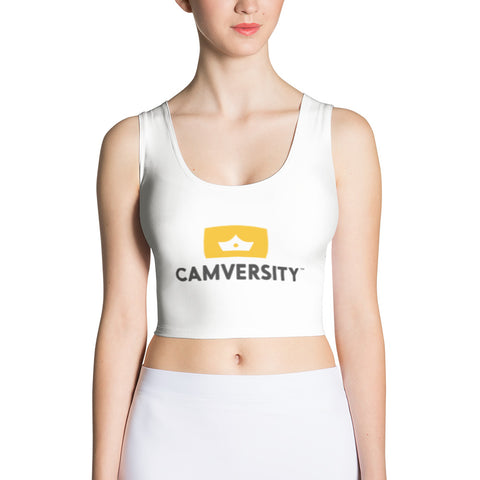 Women's Cut & Sew Crop Top