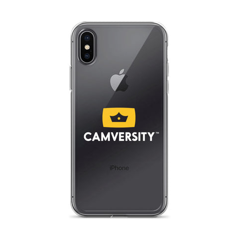 iPhone Case - White Logo
