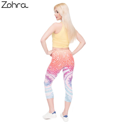 Capri Aztec Leggings