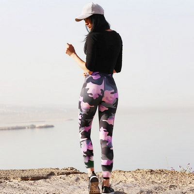 Camouflage Pants Leggings