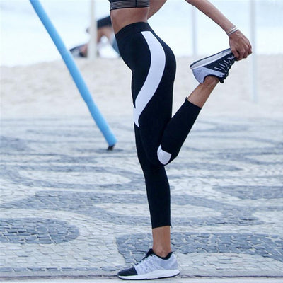 Stripped Skinny Leggings