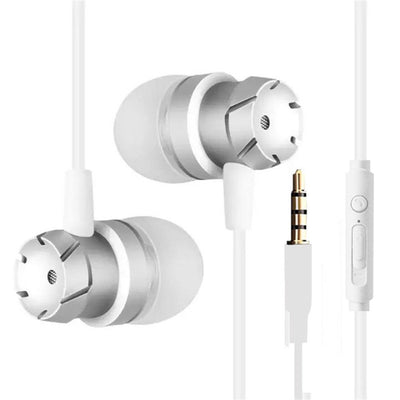 Bass Metal Earbuds