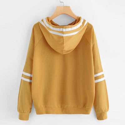 Hooded Blouse Sweatshirt