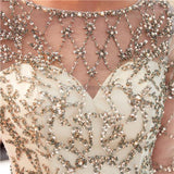Long Sleeves Sparkly Sequin Mermaid Evening Prom Dresses, Evening Party Prom Dresses, 12047