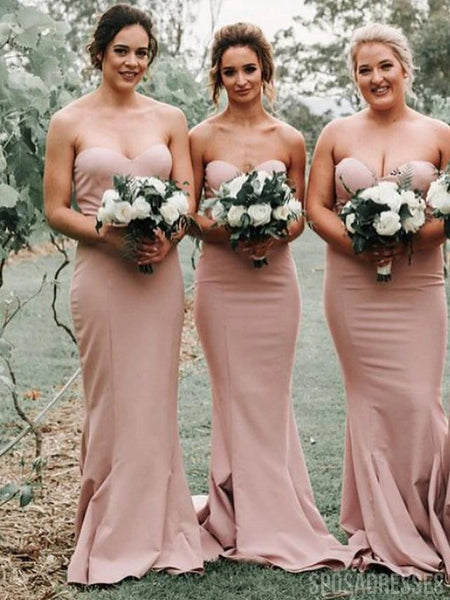 Sweetheart Mermaid Bridesmaid Dresses Online, Cheap Bridesmaids Dresses, WG738