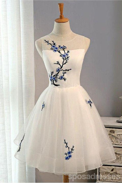 White Sweet 16 Dresses