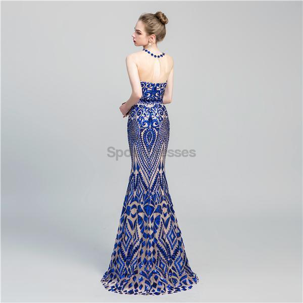 Jewel Sparkly Sequin Sexy Mermaid Evening Prom Dresses, Evening Party Prom Dresses, 12066