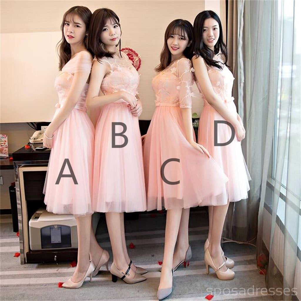 Mismatched peach lace short bridesmaid dresses cheap custom long mismatched peach lace short bridesmaid dresses cheap custom long bridesmaid dresses affordable bridesmaid gowns ombrellifo Images
