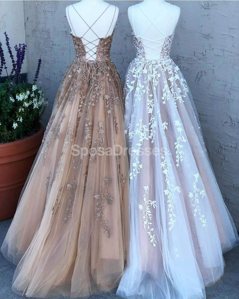 Yellow//Pink Flower Girl Dress Party Prom Formal Ball Gowns Lace Up Straps Custom
