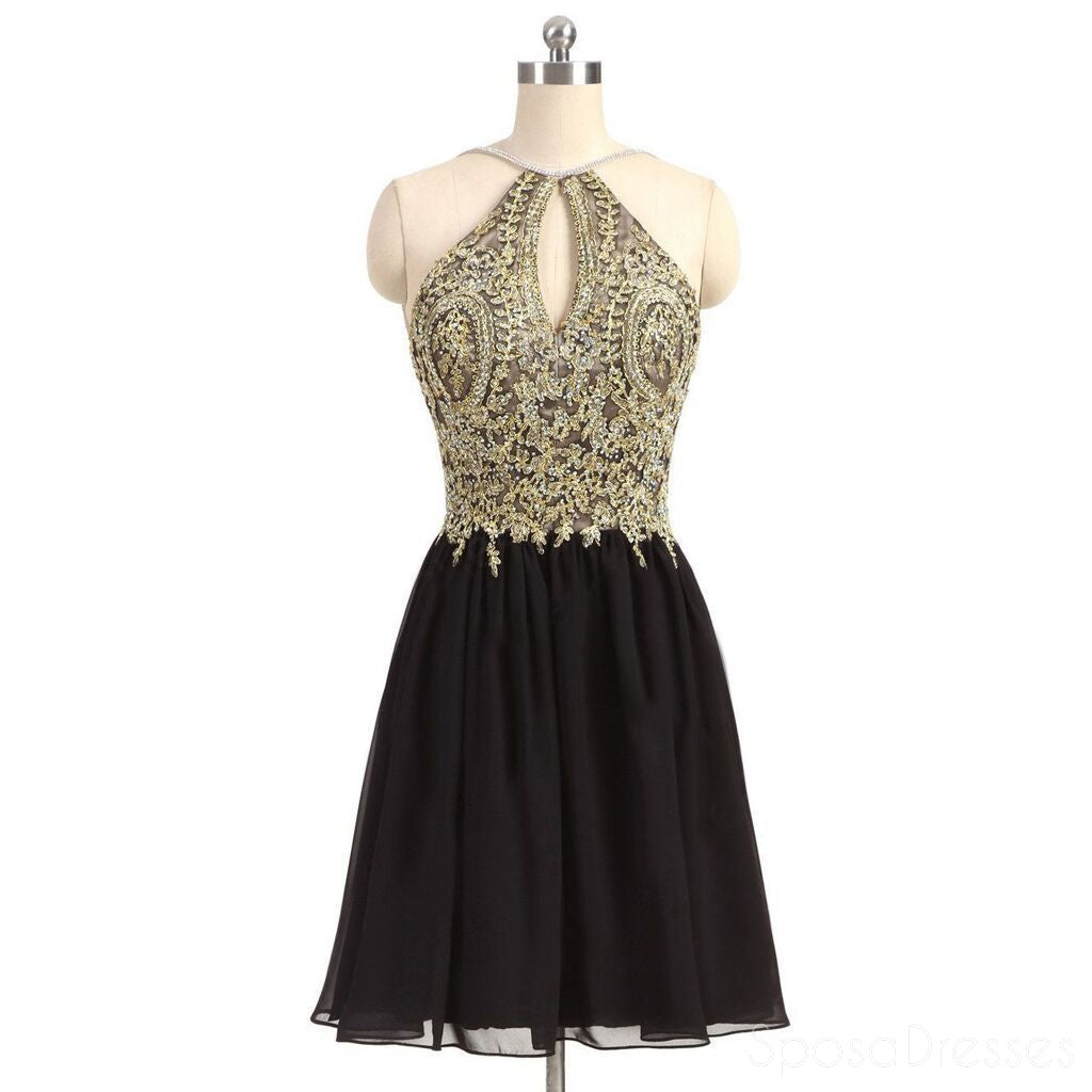 Buy Gorgeous Black Homecoming Dresses | SposaDresses