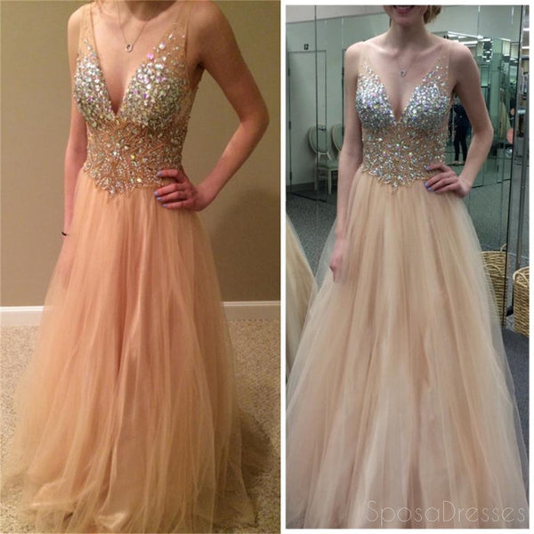V-Neck Prom Dress,Sexy Prom Dress,Tulle Prom Dress ,Sparkle Prom Dress,Party Prom Dresses ,Evening Dresses,Long Prom Dress,Prom Dresses Online,PD0127