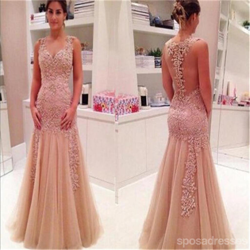 Tulle Prom Dress,Sexy Prom Dress,Off Shoulder Prom Dress ,Back See ...