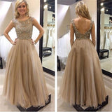 Tulle Prom Dress,Open Back Prom Dress,Fashion Prom Dress ,Charming Prom Dress,Newest Prom Dresses ,Evening Dresses,Long Prom Dress,Prom Dresses Online,PD0135