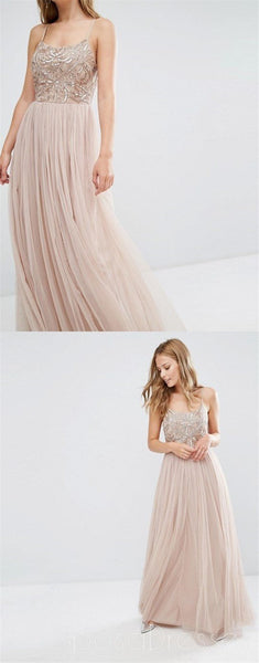 Tulle  Prom Dresses,Spaghetti Straps Prom Dresses,Custom  Dresses,Lovely Prom Dresses , Simple Prom Dresses,Cocktail Prom Dresses ,Evening Dresses,Long Prom Dress,Prom Dresses Online,PD0153