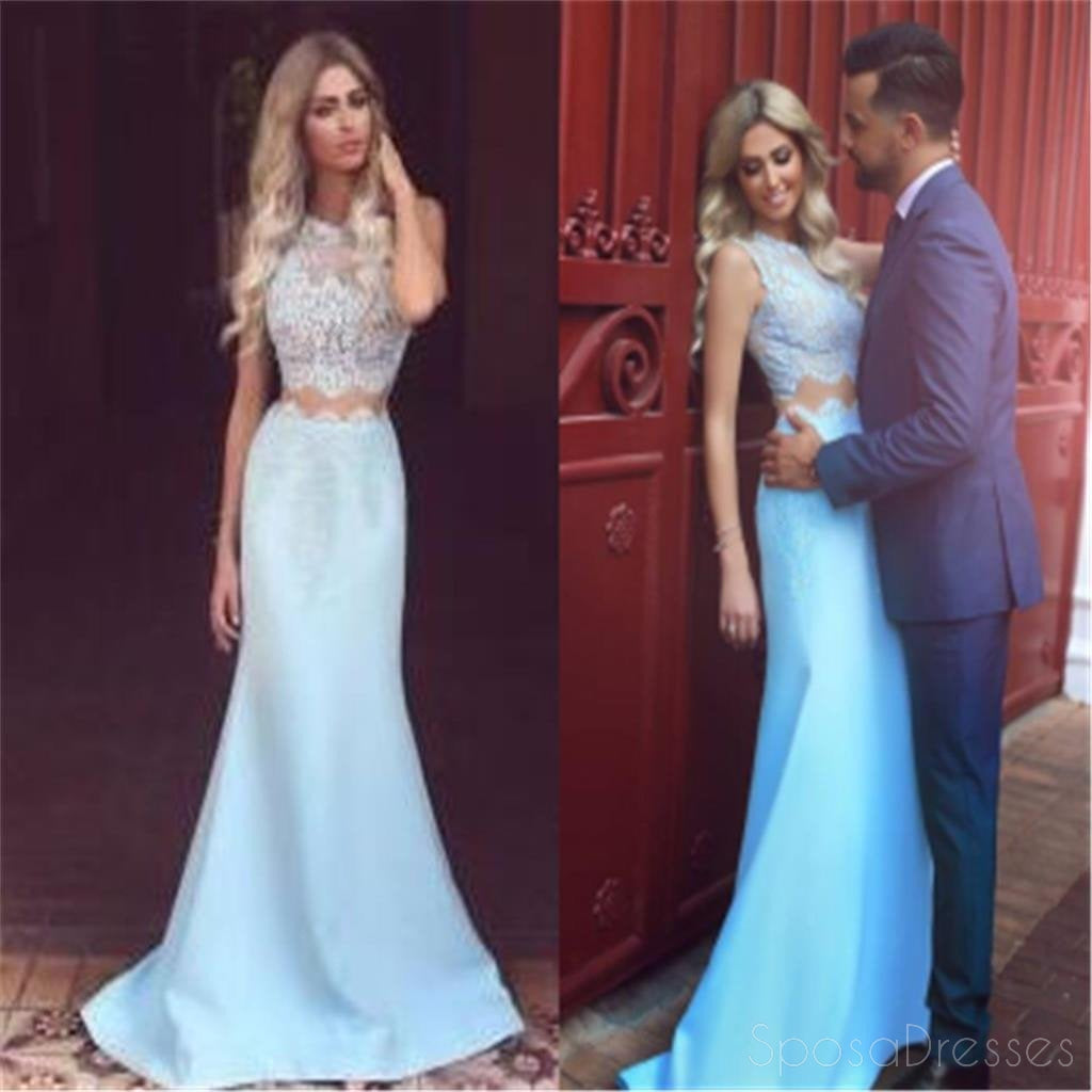 Two Piece Strapless Dresses