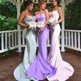 Spaghetti Straps Bridesmaid Dresses, Mermaid Prom Dresses, Popular Prom Dresses, Sexy Prom Dresses, Custom Bridesmaid Dresses,Discount bridesmiad Dresses,PD0036