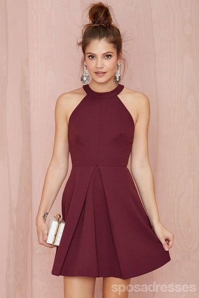 Unique Halter Cheap 2018 Homecoming Dresses Under 100, CM399