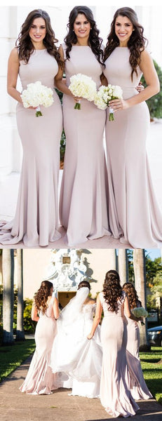 Simple Sabrina Sexy Cheap Long Bridesmaid Dresses Online, WG571
