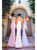 Mermaid Mismatched Cheap Long Bridesmaid Dresses Online, WG254