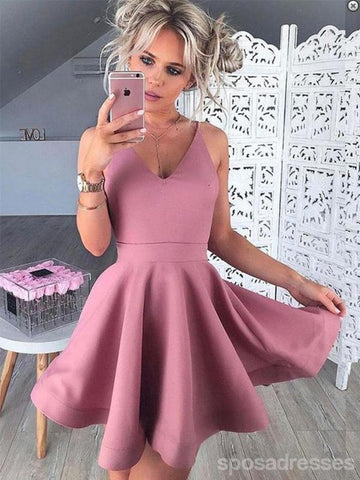 products/Simple_pink_V_neck_Homeoming_Dresses.jpg