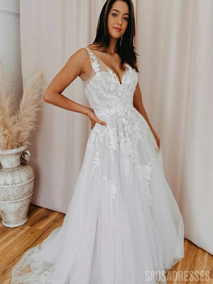 products/VnecklaceA-lineweddingdress.jpg