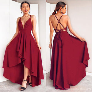 products/burgundyhighlowbridesmaiddress.jpg