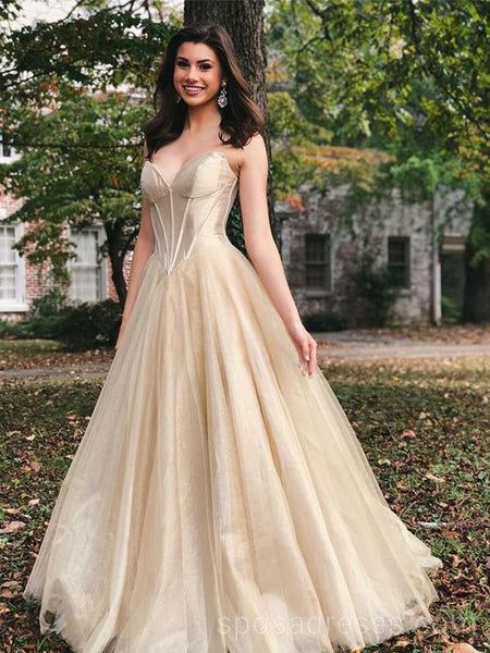 A Line Tulle Dress