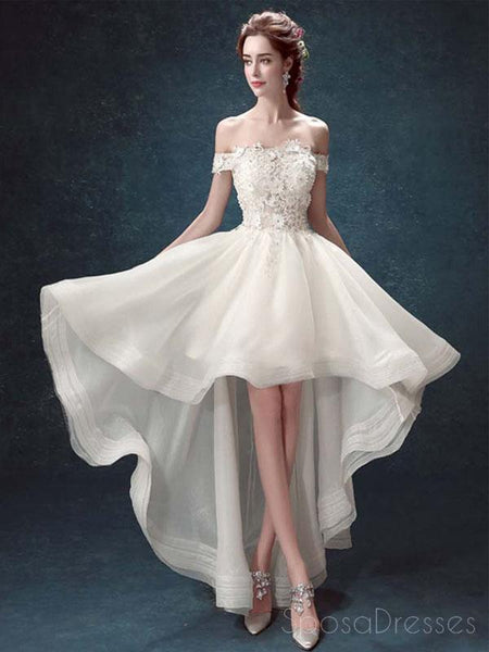 White Prom Wedding Dresses