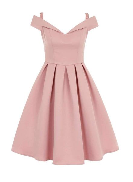 Off Shoulder Pink Short Homecoming Vestidos Online, CM632
