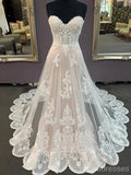Sweetheart Lace Cheap Wedding Dresses Online, Cheap Bridal Dresses, WD634