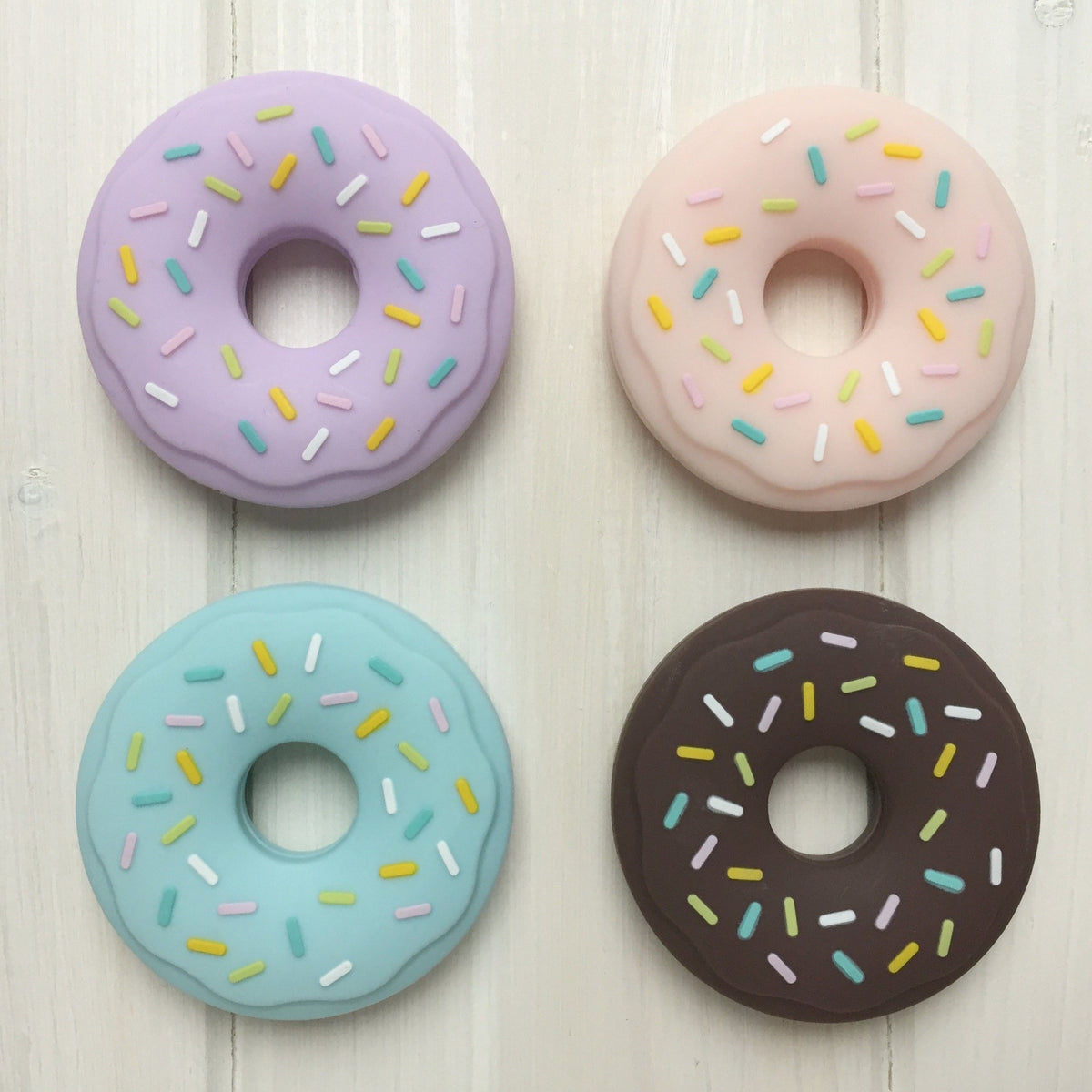 Sprinkle Donut Teething Accessory
