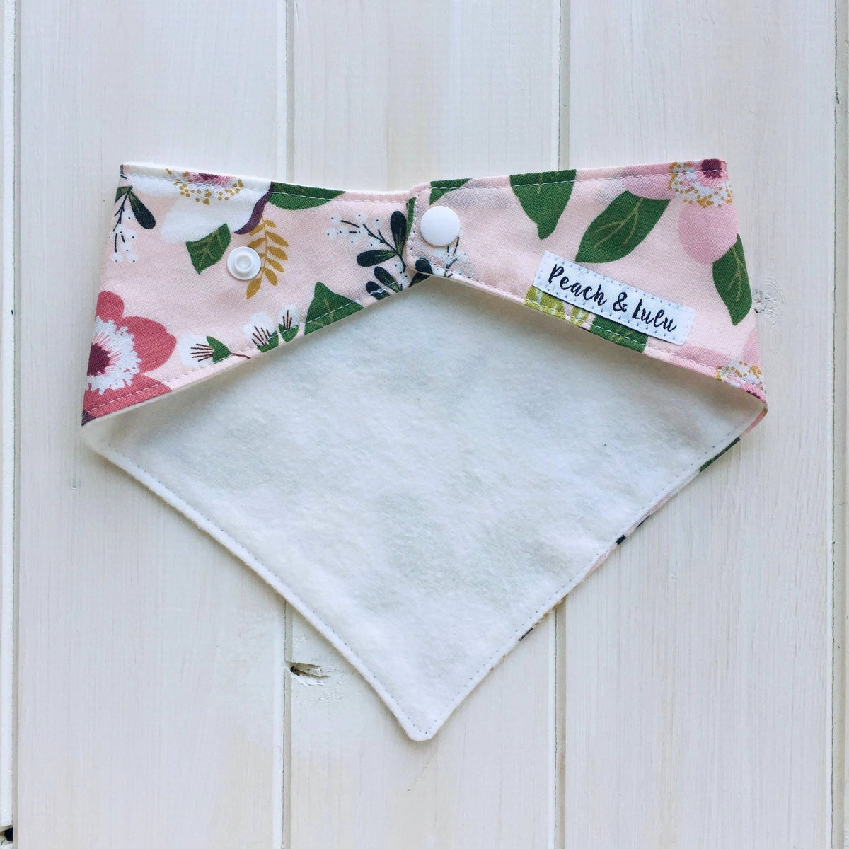 Anemone In Bloom Bandana Bib
