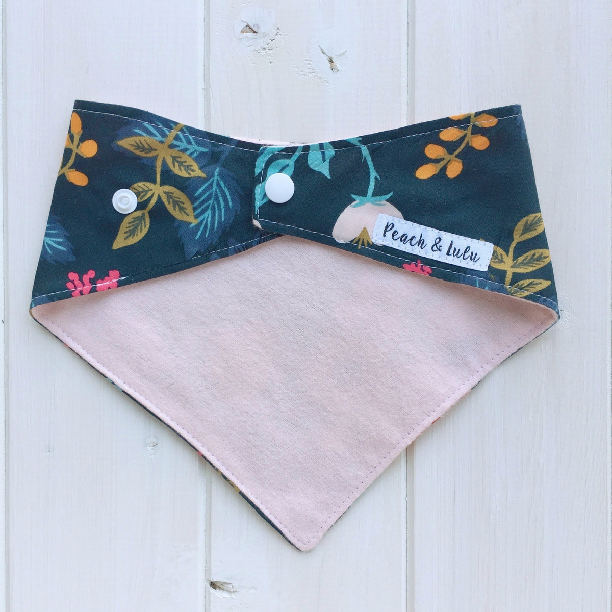 Pocket Full of Posies Bandana Bib