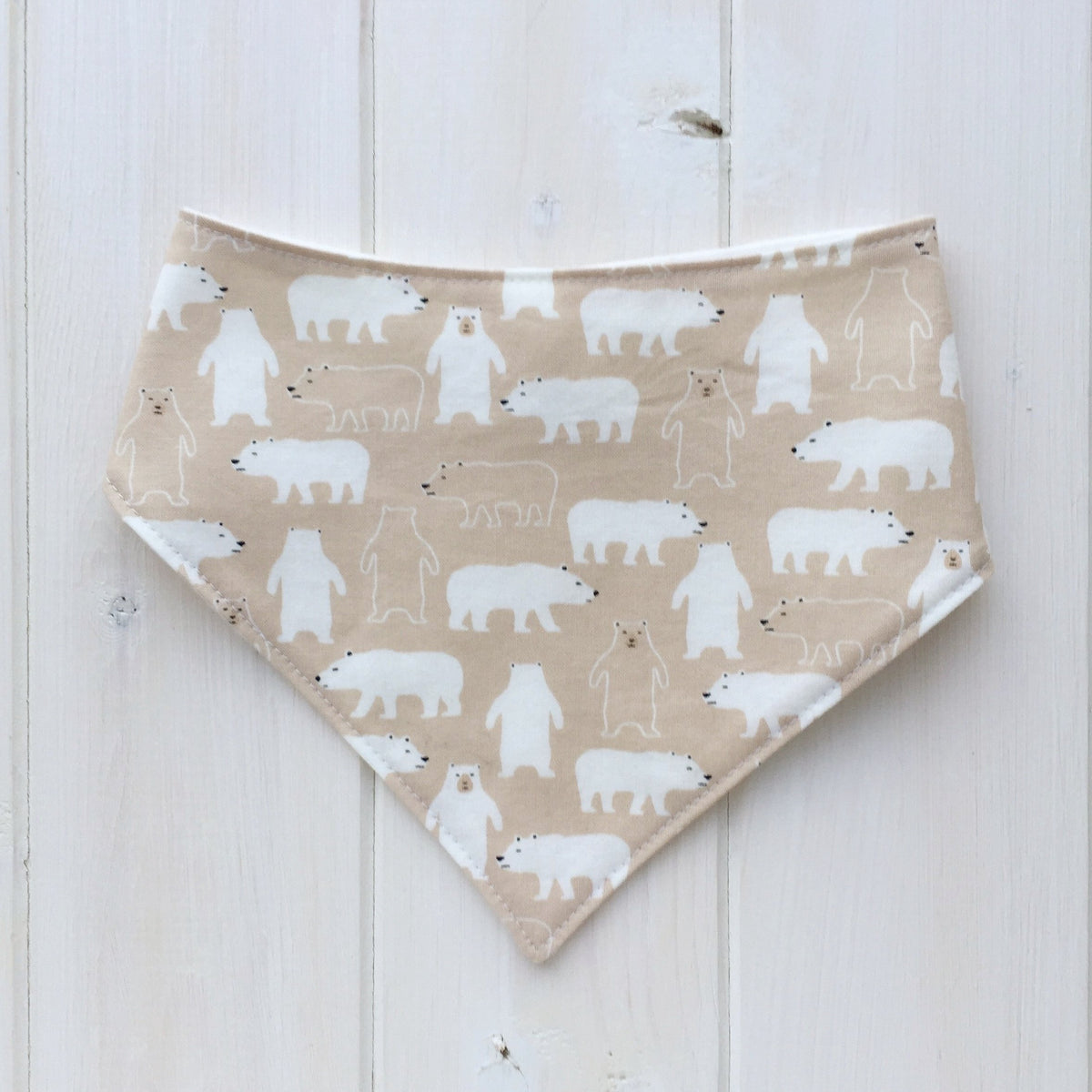 The Bear Necessities Bandana Bib