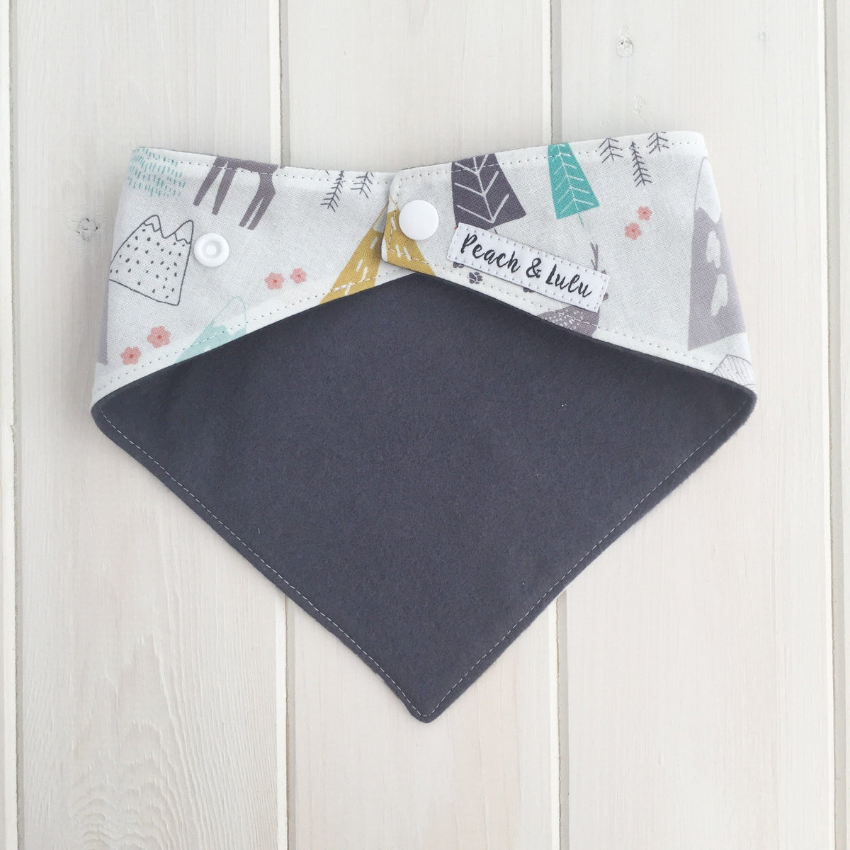 Down in the Valley Bandana Bib